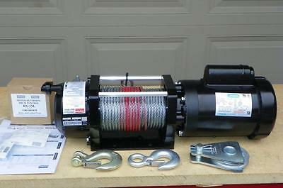New DAYTON 3000lb Electric Winch 1HP 115 Volt FAST SHIPPING