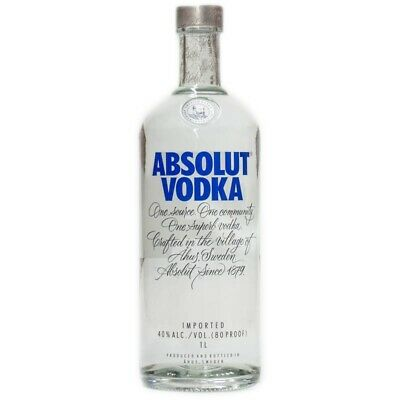 Absolut Blue Design 2016 1000ml 40% Vol.