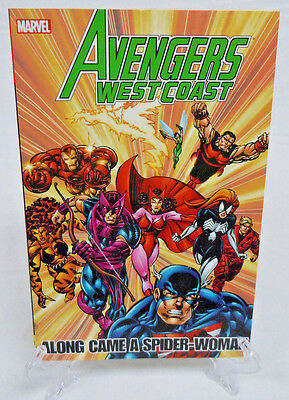 Avengers West Coast Along Came a Spider-Woman Marvel TPB Trade Paperback New