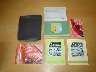 RENAULT GRAND SCENIC II & SCENIC DYNAMIQUE Owners Manual Handbook Service Book