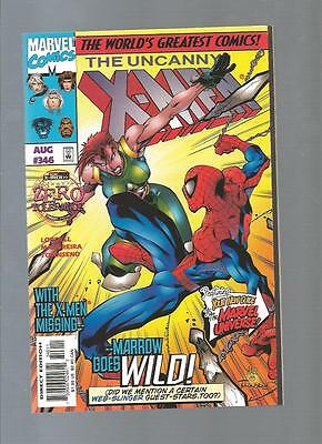 X-Men 346,347,348,349,350 Lot Of 5 Extremely High Grade 9.8/9.9 Mint