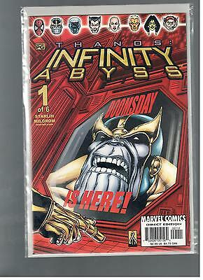 Infinity Abyss 1-6 Complete Nm Run Lot 6 Thanos