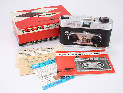 SAWYERS VIEW-MASTER COLOR STEREO, 20/2.8 VIEW-MASTER X 2, HAZE, BOXED/cks/188901