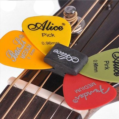 Instruments Stock Head Rubber Holder Holder With 4 Free Picks Guitar Picks