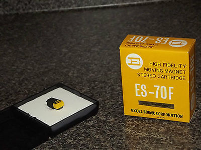 EXCEL Moving Magnet ES-70F Stereo Moving Magnet Cartridge NEW IN BOX ES 70 F