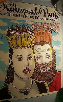 widespread panic Michael motorcycle concert poster