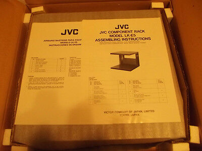JVC LK-E5 Rack Vintage Stereo Rack NEW In Box X-Rare