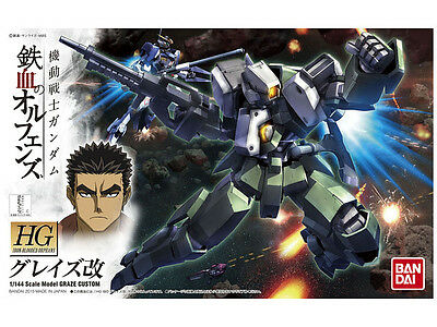 HG Iron Blooded Orphan 1/144 Scale Model Graze Custom by Bandai