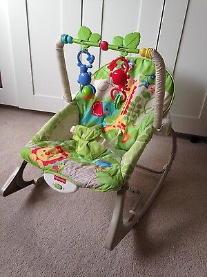 Fisher Price Rainforest Infant to Toddler Rocker, Excellent condition