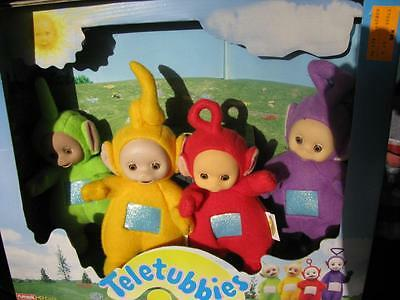 1998 Playskool Teletubies 4-Pack New in Original Package  #DTI
