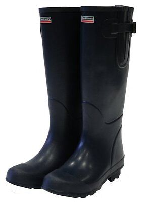 Town and Country UK Size-10 The Bosworth Wellington Boots - Navy