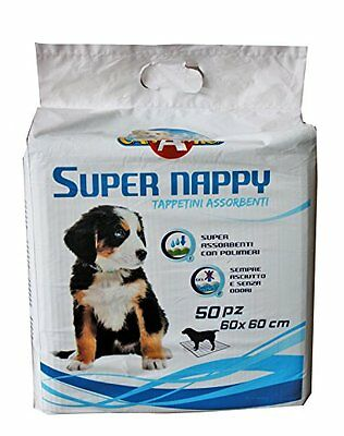 CROCI Dog Absorbent Super Nappy 60 x 60 cm Pack of 50 - SAME DAY DISPATCH