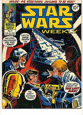 Star Wars Weekly (1978 UK) Issue No4
