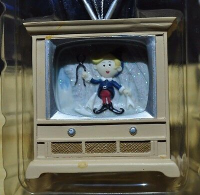 Rudolph and The Island Of Misfit Toys Hermey on TV tree ornament 104284