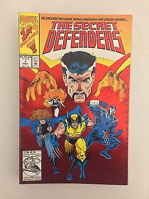 The Secret Defenders (Dr. Strange) 1993 Marvel Comic Series Issues #1-13 & 15
