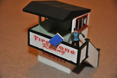 Scalextric Vintage Marshals Hut with Marshal K704 EXCELLENT