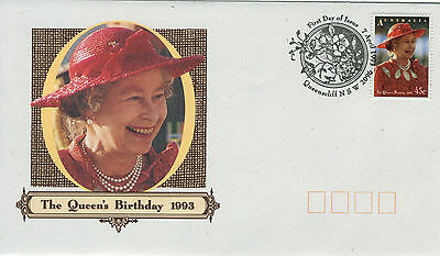 1993 - Australia - The Queen's Birthday - First Day Cover