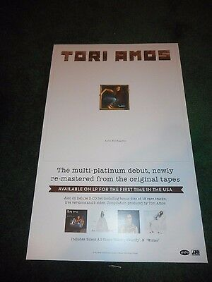 Tori Amos- Little Earthquakes/under The Pink - Original Ds Remaster Promo Poster