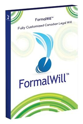 FormalWill™ Fully Customized Canadian Legal Will Kit 2019