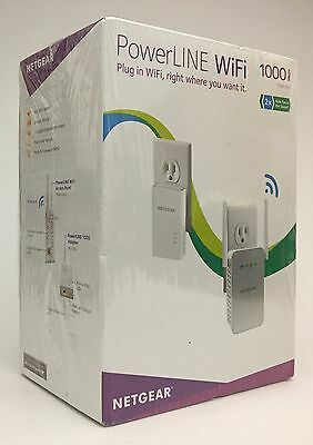 Netgear PowerLINE 1000 + WiFi PLW1000-100NAS