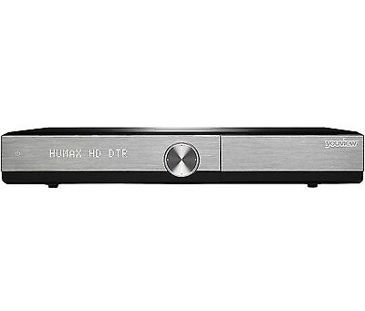 Humax DTR-T2000 500GB Twin Tuner Series Record YouView Receiver with HD