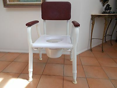 Strong Mobility Toilet or Chair with Height Adjustment