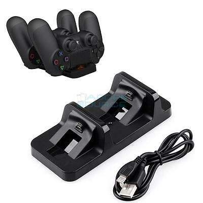 Dual Charging Dock Station stand di ricarica per Playstation 4 PS4 Controller