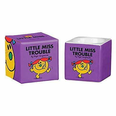 Mr Men and Little Miss Trouble Egg Cup Bright Purple - SAME DAY DISPATCH