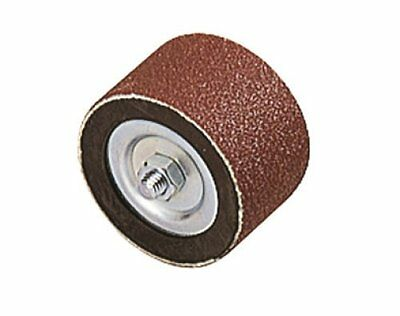 Wolfcraft 2038000 45 x 30mm Rotary Drum Sander with 2 Sanding Belts