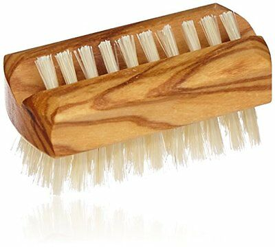 Croll & Denecke 20248 Nail Brush High-Quality Olive Wood - SAME DAY DISPATCH