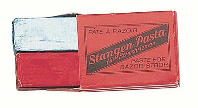 Nc - 9501 - Box with 2 Blocks of Razor Strop Paste - Red for Sharpening and Blue