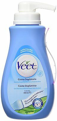 Veet Depilatory Cream Sensitive Skin Dispenser 400 ml - SAME DAY DISPATCH