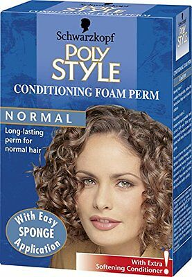 Schwarzkopf Poly Style Conditioning Foam Perm for Normal Hair - Pack of 3 - NEW