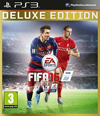 FIFA 16 Deluxe Edition (PS3) - Game  4MVG The Cheap Fast Free Post