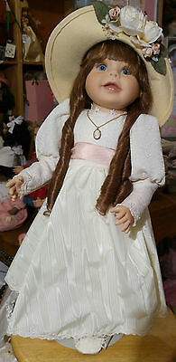 """THE COLLECTIBLES Doll  """"Claire""""  21""""  Vinyl"""