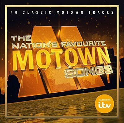 Various - The Nation's Favourite Motown Songs - Various CD COVG The Cheap Fast