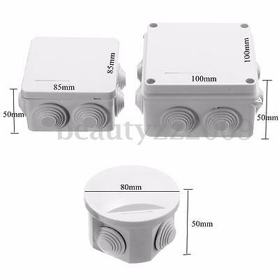 Waterproof IP65 Terminal Junction Project Box Outdoor Electrical Enclosure Cover
