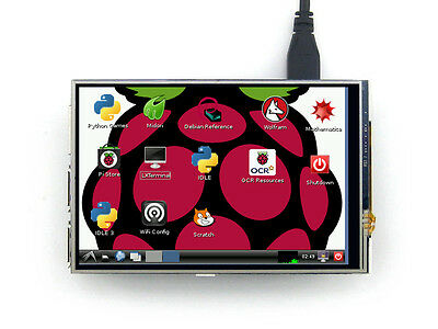 4'' LCD Resistive Touch Screen Monitor TFT LCD for Mini Computer Raspberry TP