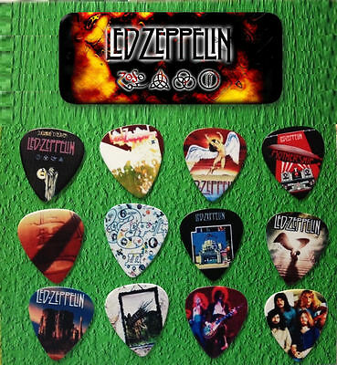 LED ZEPPELIN -- Guitar Pick Tin includes 12 Guitar Picks *Limited Edition*