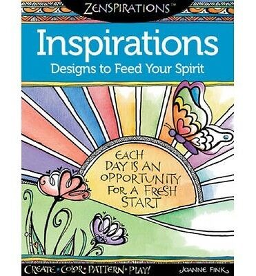 Zenspirations-Inspirations - Designs to Feed Your Spirit Clr-ing Book  Rrp16.50