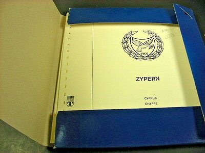 CYPRUS(1985-1993), Pristine MINT NH Stamp Collection in Lindner Hingeless pages