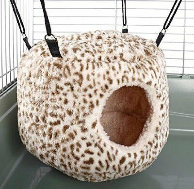 Huge Rodent-Hive Rat Ferret Chinchilla Igloo Bed House Snuggle Up Hammock Toy CP