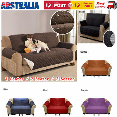 Water Resistant 1/2/3 Seaters Dog Cat Sofa Cover Pet Furniture Couch Protector
