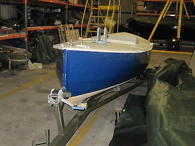 15ft Sailing Dinghy( Selway Fisher design) Lilley Canoe Yawl with road trailer