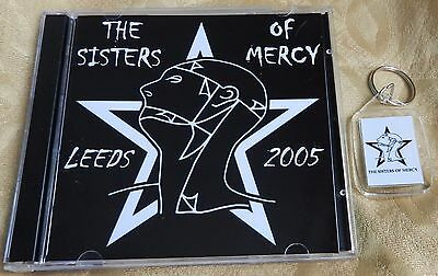 "THE SISTERS OF MERCY, FOB + FREE CD, ""LEEDS 2005""  (The Mission)"