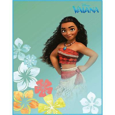 Plaid couverture polaire Vaiana Disney 110x140 - ExcellShopping