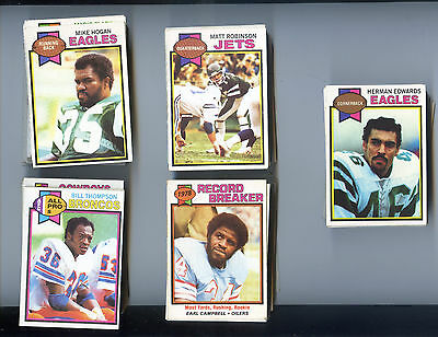 1979 Topps Football Complete Set 528 cards excellent
