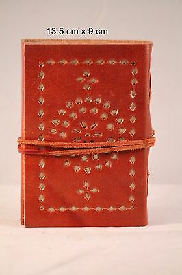 Leather Cover Handmade Fringe Vintage Thread Diary,notebook,writingbook