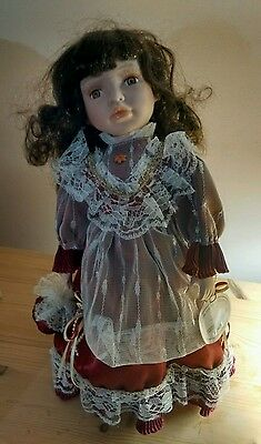 Knightsbridge collection porcelain doll
