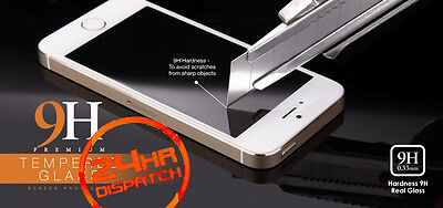 100%Genuine Tempered Glass Screen Protector 1+1 For Iphone 5S {[liA6